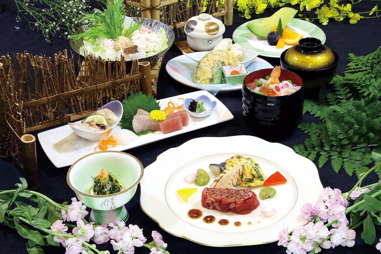 桜鯛の春日鍋(はるひ)会席
