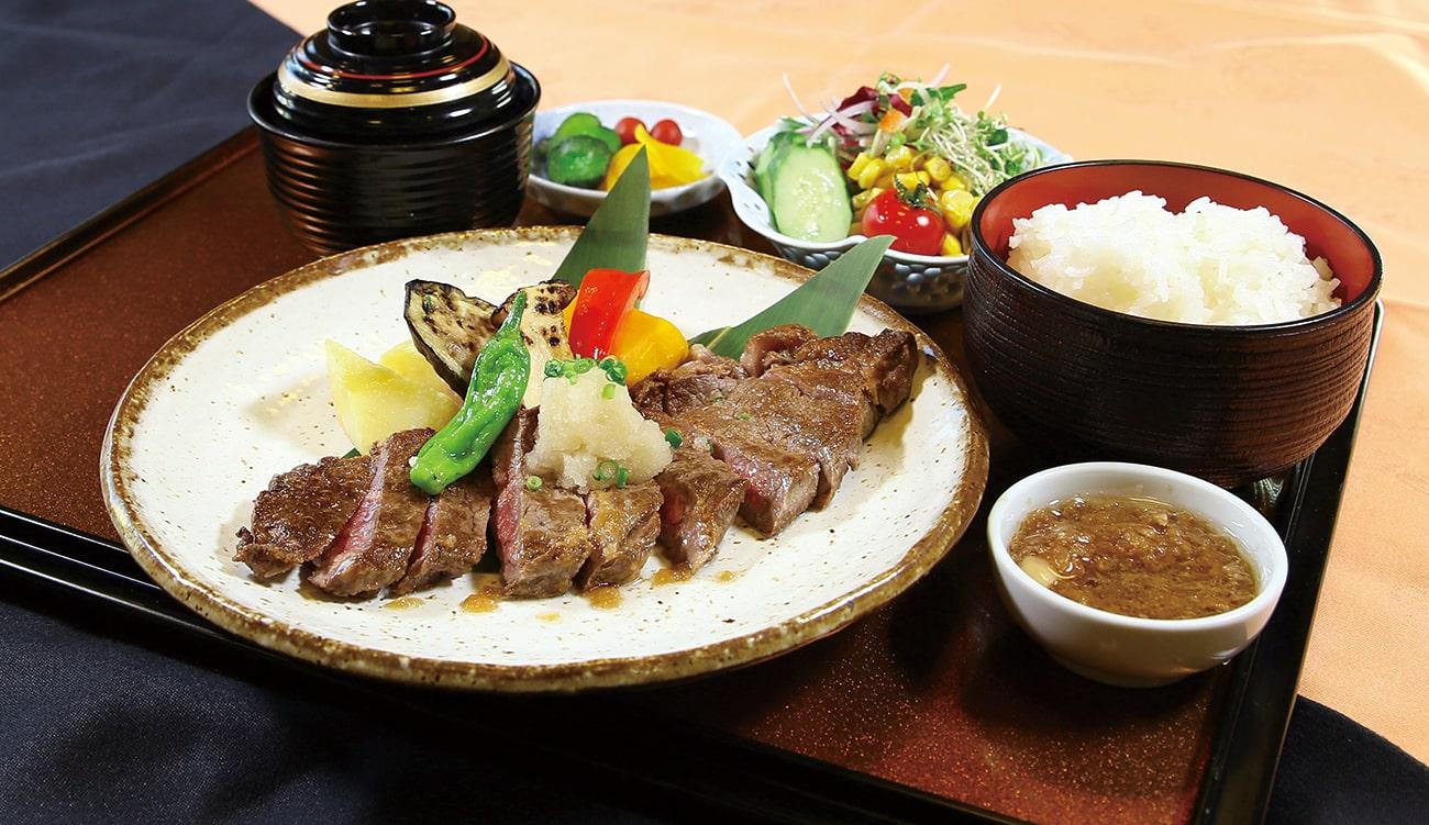 「ステーキ御膳」1,500円(税込)